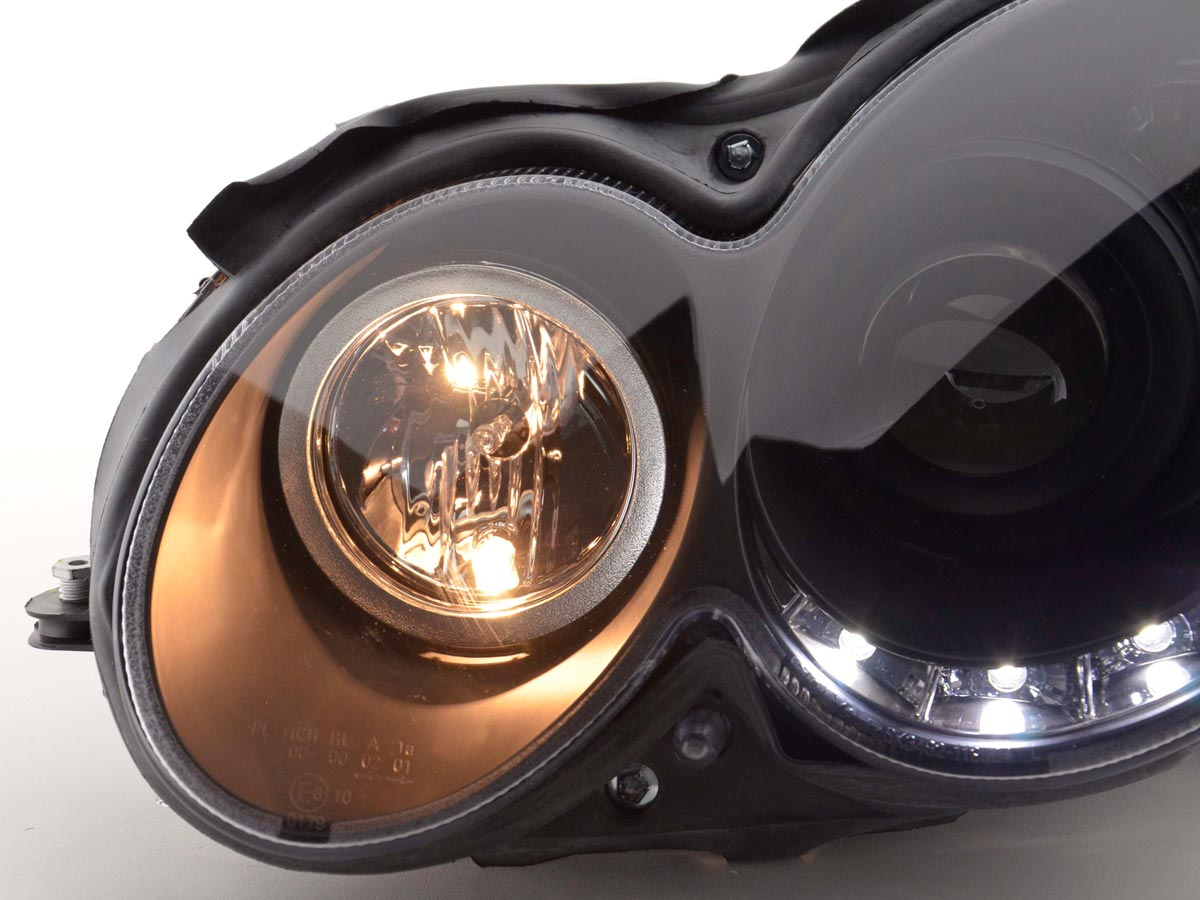 Daylight headlight Mercedes CLK type W209 Yr  04-09 black