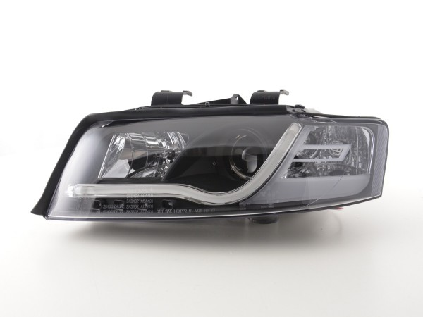 Daylight headlight Set Audi A4 type 8E Yr. 01-04 black RHD