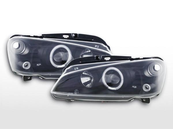 headlight Peugeot 106 Yr. 96-03 black