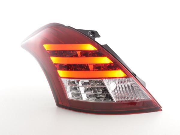 Led Taillights Suzuki Swift Sport Yr. 11-13 red/clear