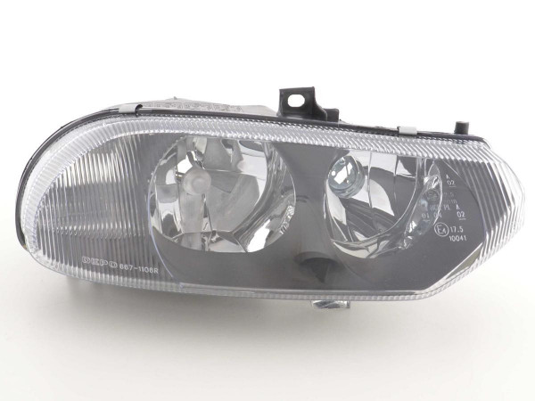 headlight Alfa Romeo 156 type 932 Yr. 97-03 black