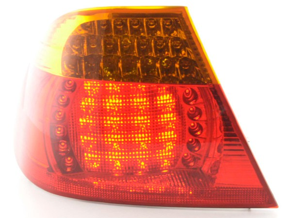 Spare parts Taillights left BMW serie 3 Coupe type E46 Yr. 03-06, yellow/red