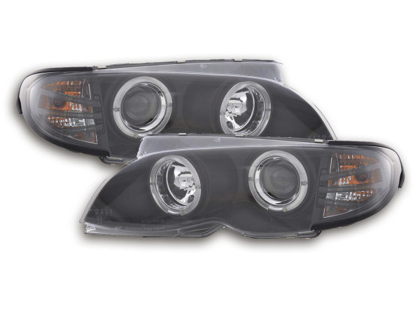 headlight BMW serie 3 E46 saloon/Touring Yr. 02-05 black