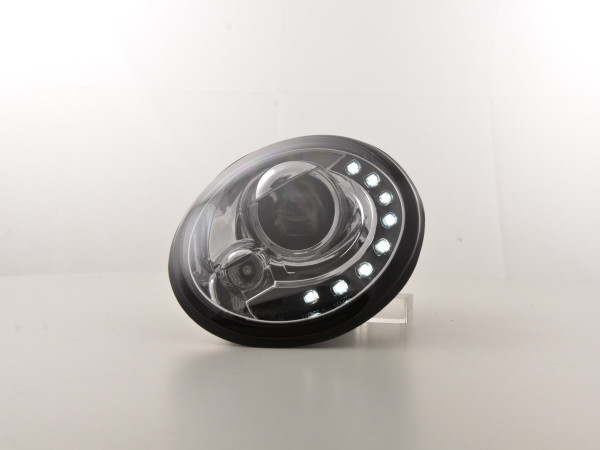 Daylight Headlight VW New Beetle 9C Yr. 98-05 chrome