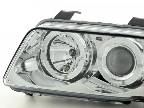 headlight Audi A4 type B5 Yr. 99-01 chrome