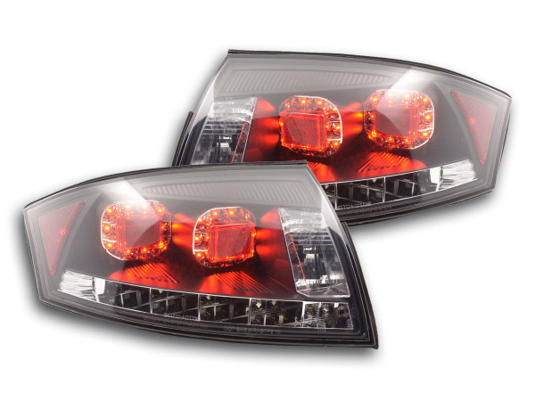 Led Taillights Audi TT type 8N Yr. 99-06 black, RHD