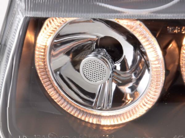 Angel Eye headlight VW Polo type 6N Yr. 94-99 black