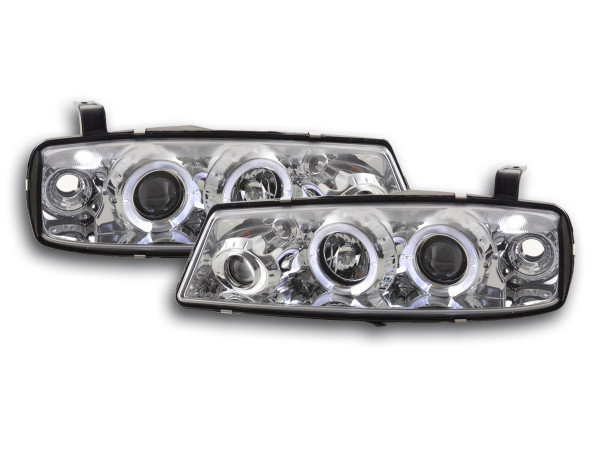 headlight Opel Calibra Yr. 90-98 chrome