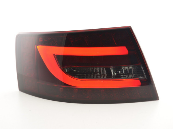 Taillights LED Audi A6 Limo (4F) Yr. 04-08 red/black
