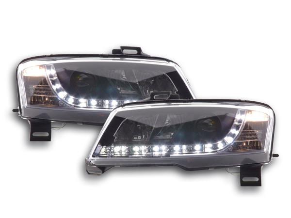 Daylight headlight Fiat Stilo 3-door. type 192 Yr. 01-07 black