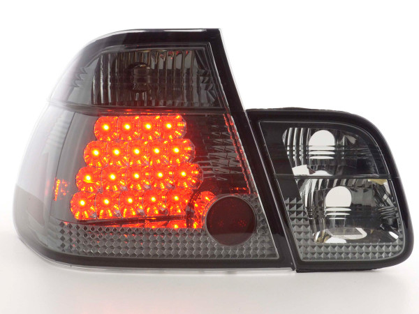 Led Taillights BMW serie 3 saloon type E46 Yr. 98-01 black