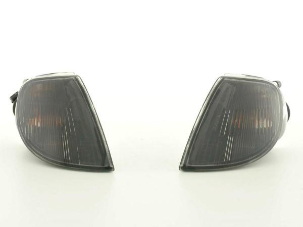 Front indicator Set Citroen Saxo Typ S/S/NFT Yr. 96-99 black