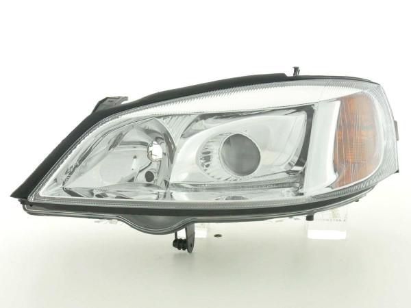 Spare parts headlight left Opel Astra G Yr. 01-04