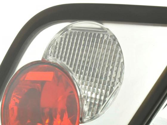 Rear lights BMW 3er Coupe Typ E46 Yr. 99-02 chrome