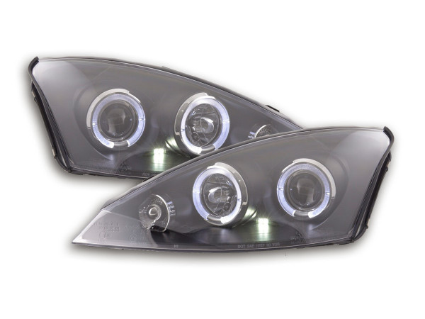 headlight Ford Focus Yr. 98-01 black