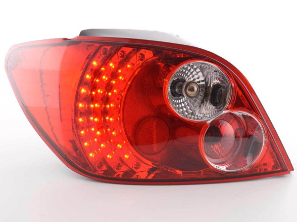 Led Taillights Peugeot 307 Hatchback Yr. 01-04 clear/red