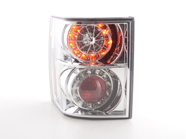 Led Taillights Land Rover Range Rover Yr. 02-05 chrome with Led indicator