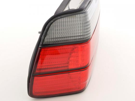 Taillights BMW serie 3 E36 Coupe, red/black