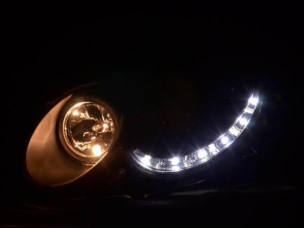 Daylight headlight Mercedes CLK type W209 Yr. 04-09 black