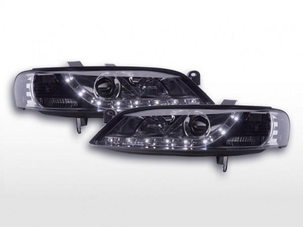 Daylight headlight Opel Vectra B Yr. 96-99 chrome