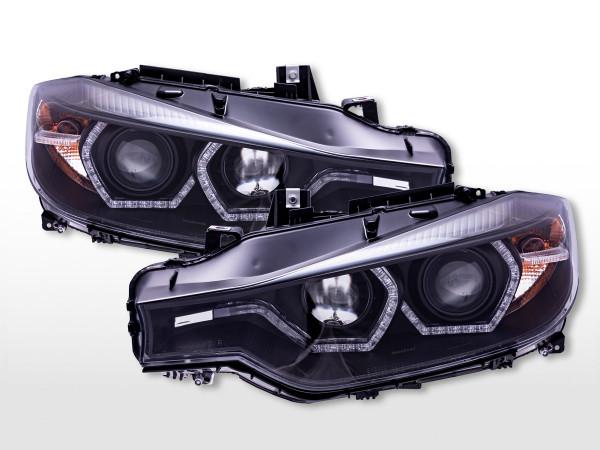 Daylight Scheinwerfer mit LED Tagfahrlicht BMW 3er F30/F31 ab 2012 schwarz
