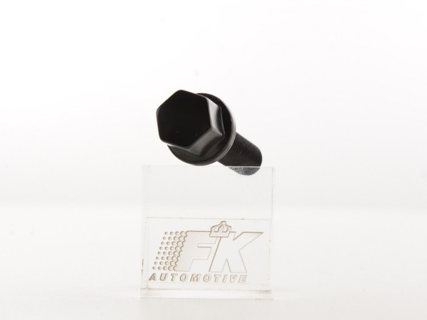 Wheel bolt, L= 35 mm M12 x 1,5 short head black