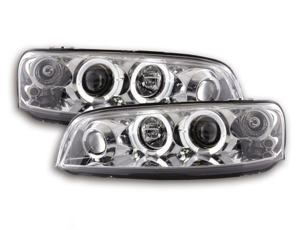 headlight Fiat Punto 2 type 188 Yr. 99-02 chrome