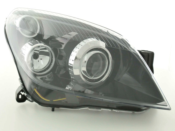 Spare parts headlight right Opel Astra H GTC Yr. 05-10