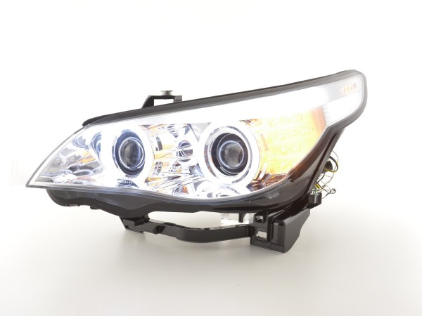 Angel Eye headlight CCFL Xenon BMW serie 5 E60/E61 Yr. 05-08 chrome