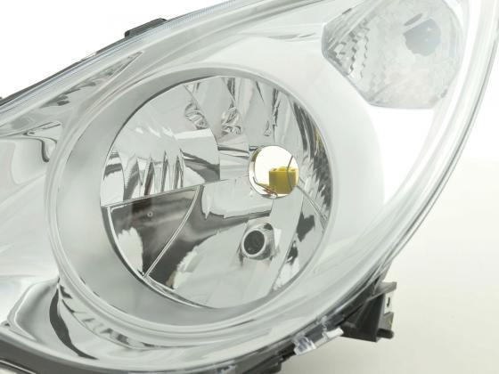 Spare parts headlight left Opel Agila B Yr. 08-