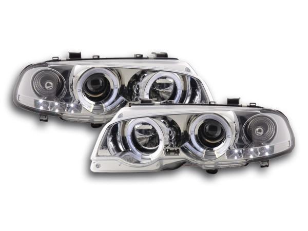 headlight BMW serie 3 E46 Coupe/Cabrio Yr. 98-02 chrome