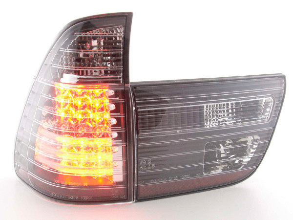 Led Taillights BMW X5 type E53 98-02 black