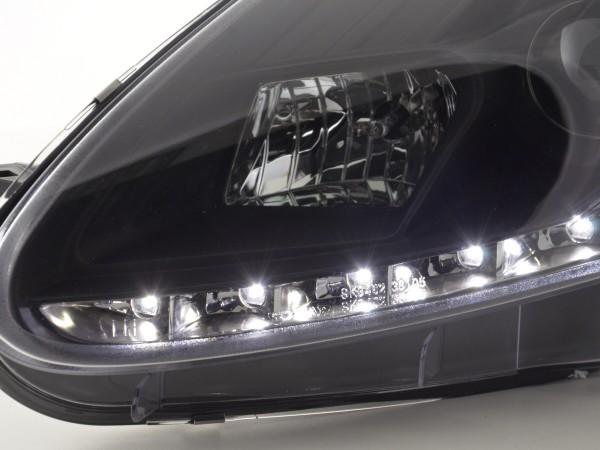 Daylight headlight Fiat Grande Punto type 199 Yr. 05-08 black