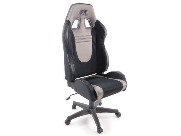 Office Chair Racecar black/grey