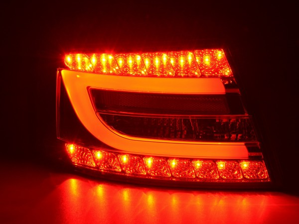 Taillights LED Audi A6 saloon (4F) Yr. 04-08 red/clear
