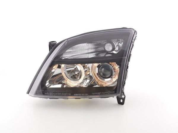 Angel Eye headlight Opel Vectra C Yr. 02-04 black