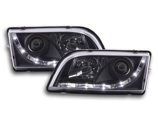 Daylight headlight Volvo S40/V40 type V Yr. 96-04 black
