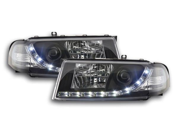 Daylight headlight Skoda Octavia type 1U Yr. 01-04 black