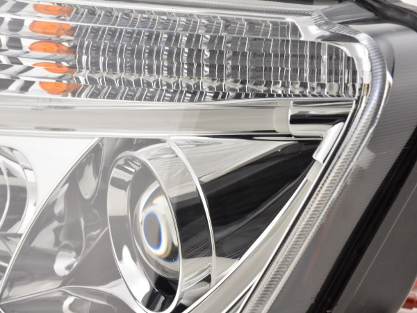 Daylight headlight Dacia Duster Yr. 10-13 chrome