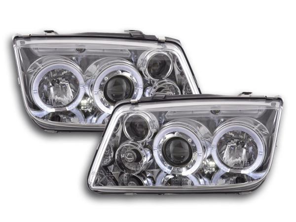 headlight VW Bora type 1J Yr. 98-05 chrome