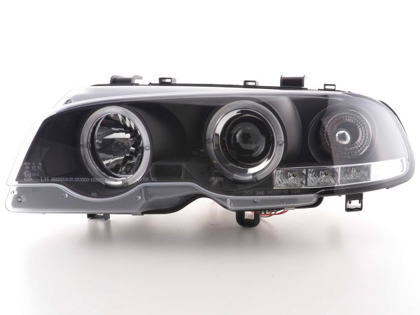 headlight BMW serie 3 E46 Coupe/Cabrio Yr. 98-02 black