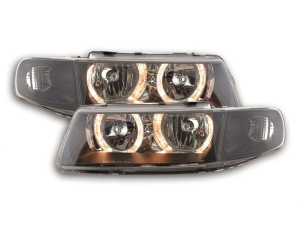Angel Eye headlight Seat Leon/Toledo type 1M Yr. 99-05 black