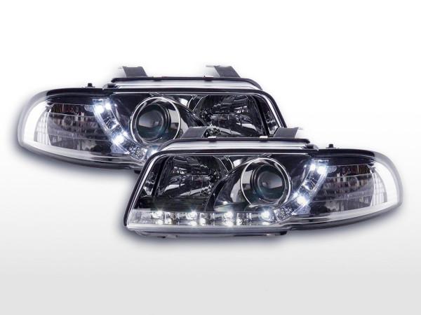 Daylight headlight Audi A4 type B5 Yr. 95-99 chrome