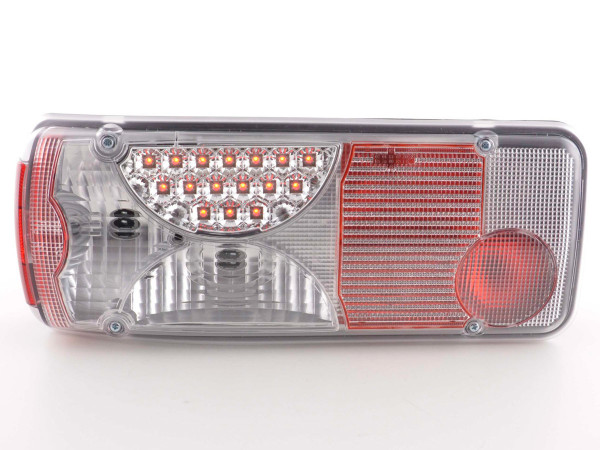 Led Taillights Mercedes Zetros chrome