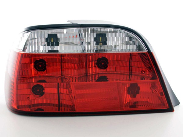 Taillights BMW serie 7 E38 Yr. 95-02, red/clear