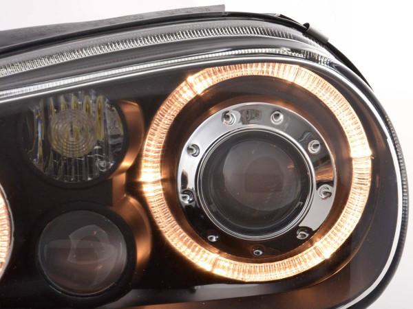 Angel Eye headlight VW Golf 4 type 1J Yr. 98-03 black