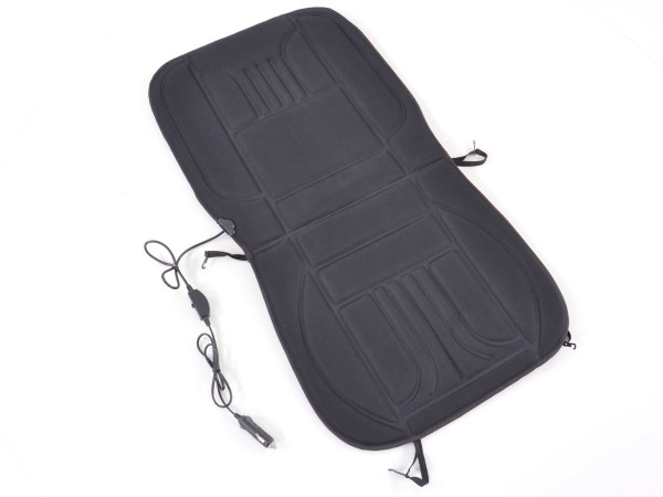 Pillow with heated seats black