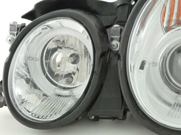 headlight Mercedes CLK type W208 Yr. 98-02 chrome