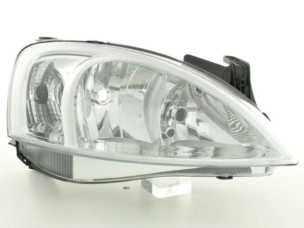 Spare parts headlight right Opel Combo C Yr. 01-05