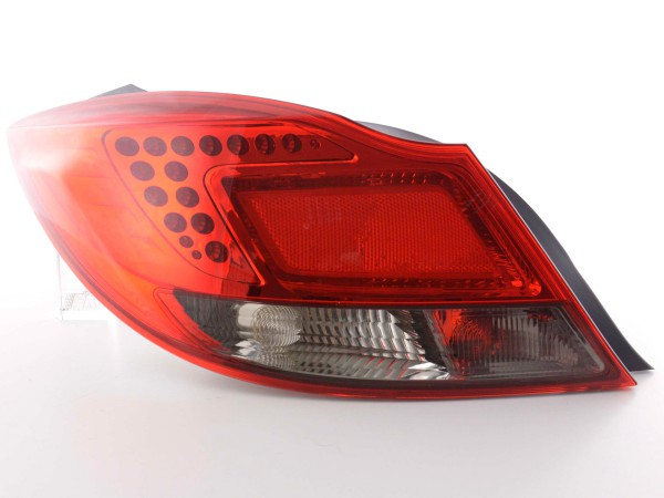 Led Taillights Opel Insignia saloon red/black